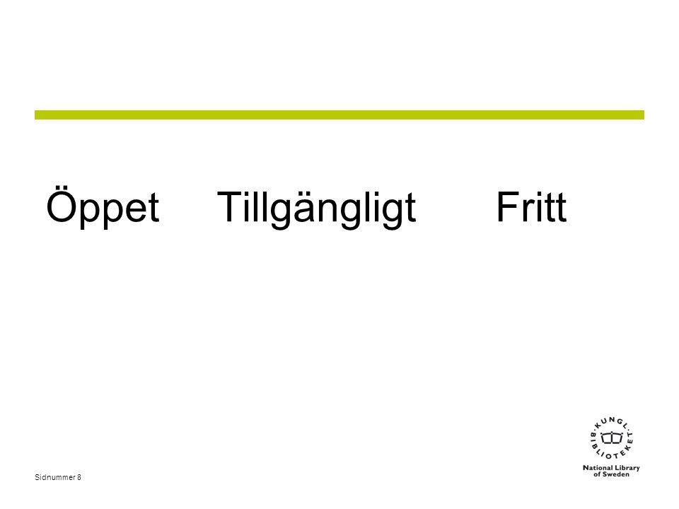 Gränssnitt Försörjning Länkning LIBRIS samkatalog libris.kb.se swepub.kb.