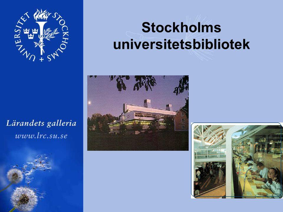 Stockholms universitetsbibliotek
