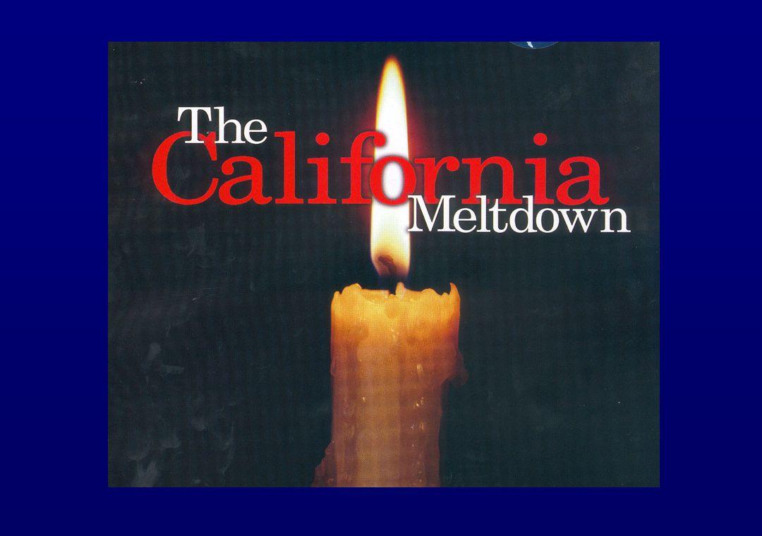 El-situationen i Californien