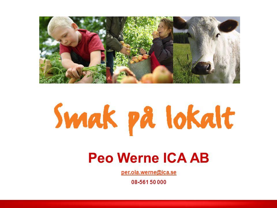 ICA AB /Smak på lokalt Läs mer intressant ! En ny leverantör till charken ? Låter som en god sak…