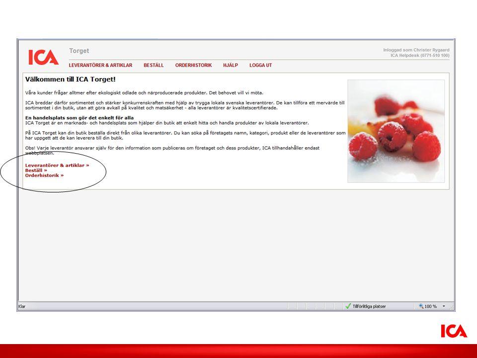 ICA AB /Smak på lokalt