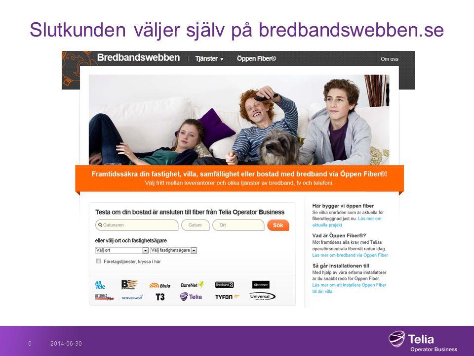 2014-06-306 Slutkunden väljer själv på bredbandswebben.se