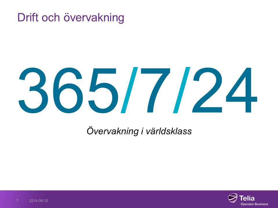 2014-06-307 Drift och övervakning Övervakning i världsklass