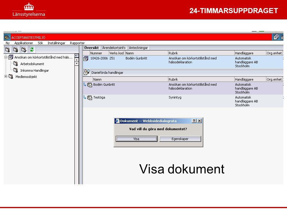 24-TIMMARSUPPDRAGET Visa dokument