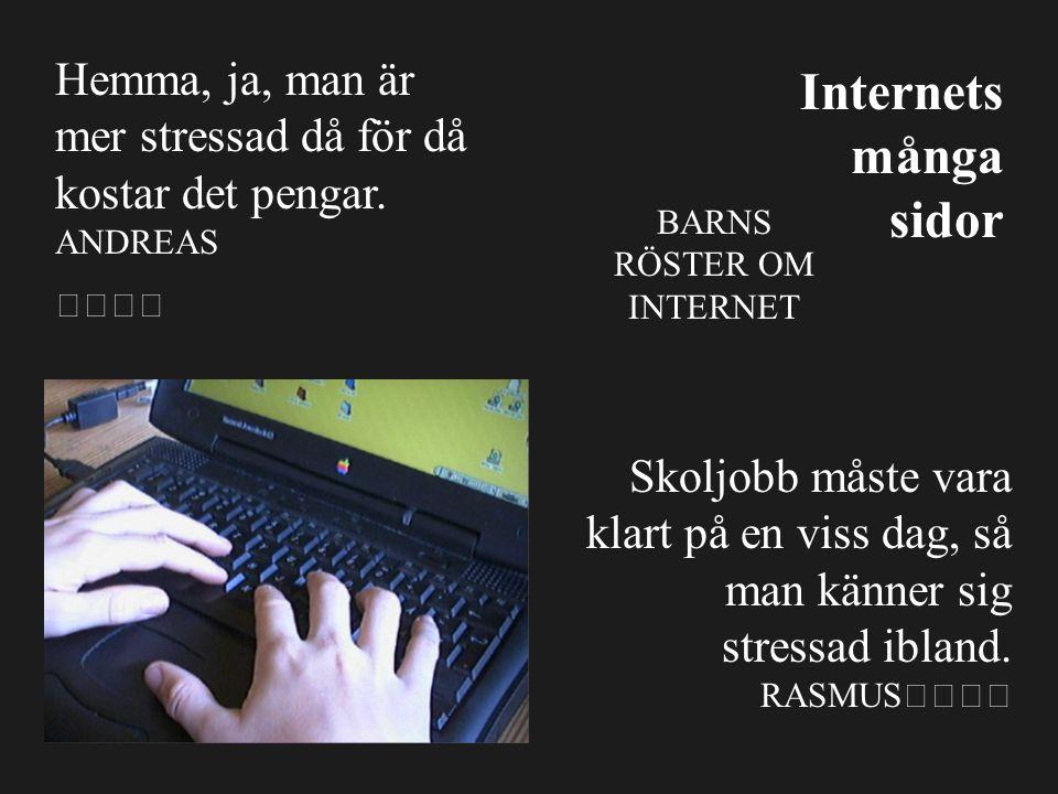 Vilka kunskaper behövs för att söka på Internet.