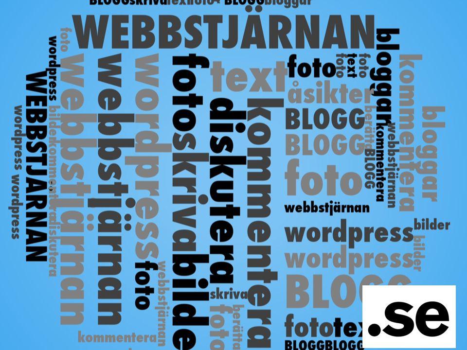 Vi ger er valfri.se adress i ett år och installerar Wordpress