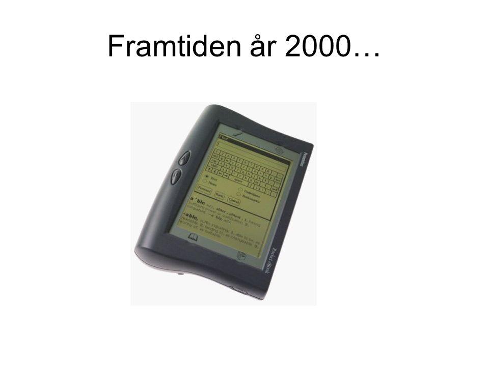 Framtiden år 2000…