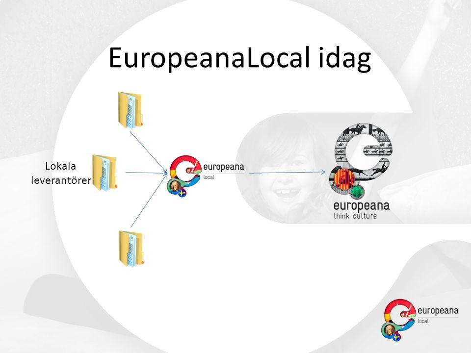 Lokala leverantörer EuropeanaLocal idag