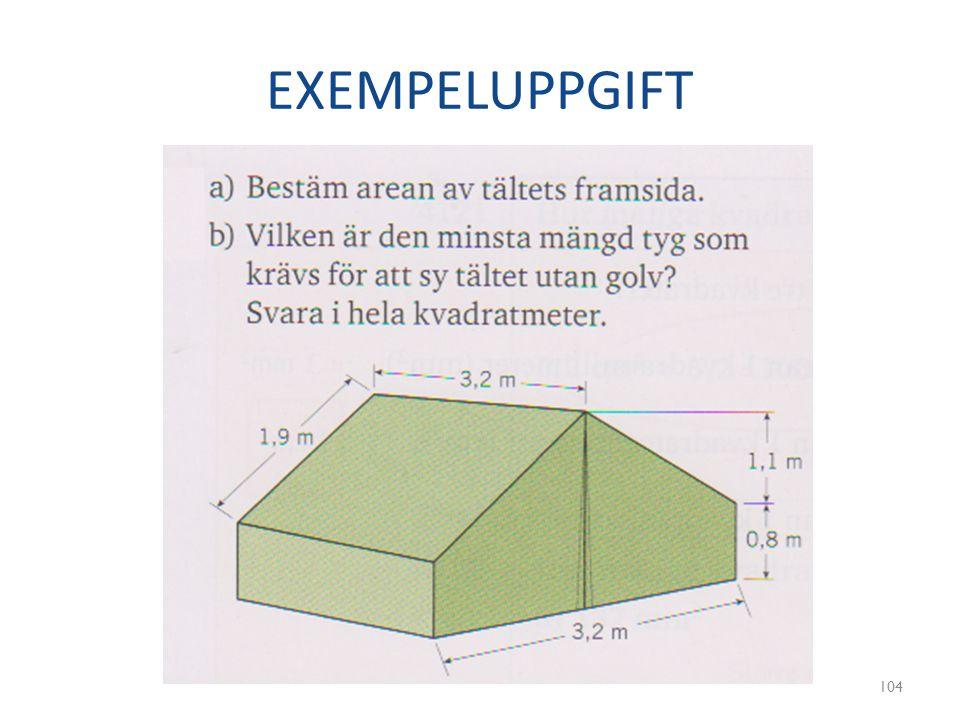 EXEMPELUPPGIFT 104