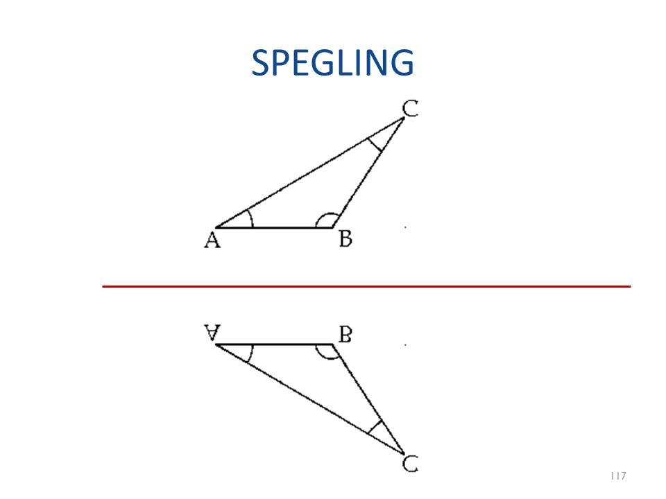 SPEGLING 117