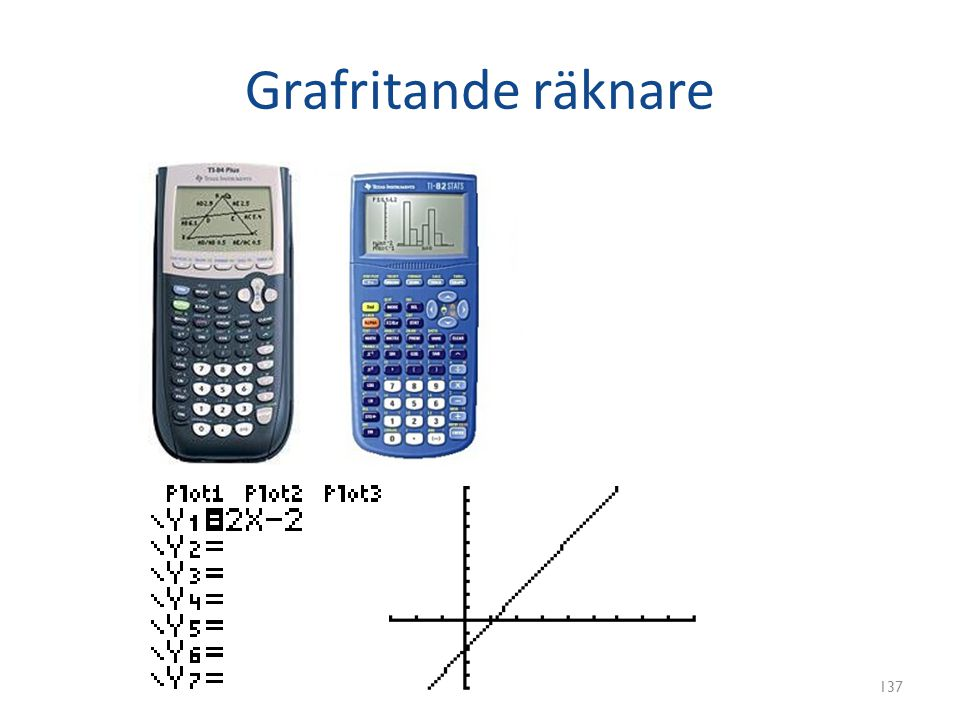 Grafritande räknare 137