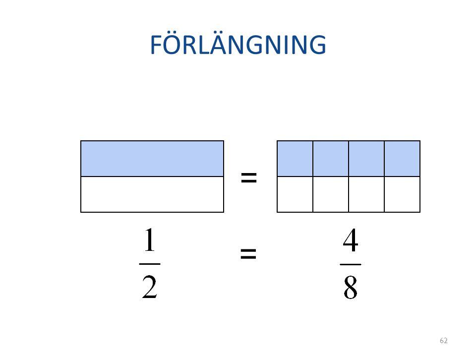 FÖRLÄNGNING 62 = =