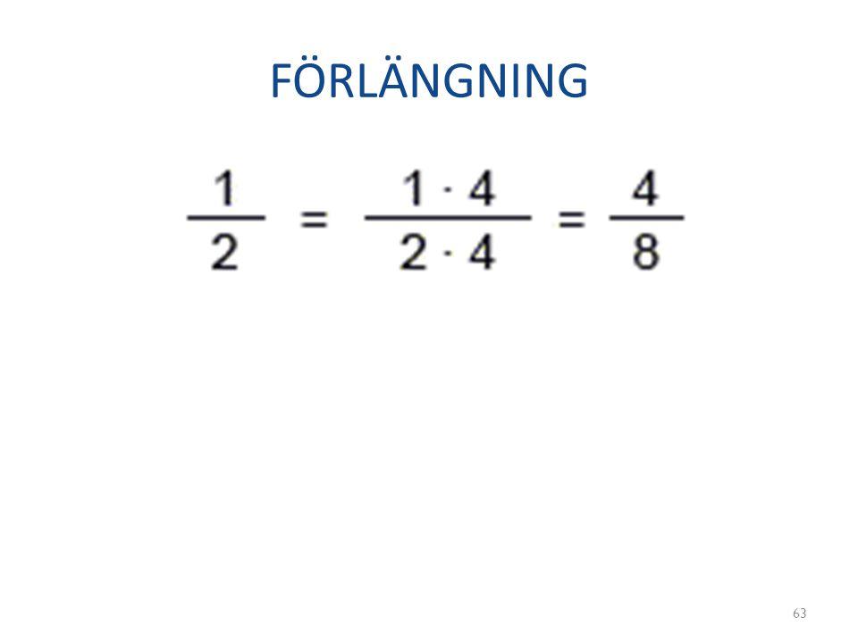 FÖRLÄNGNING 63