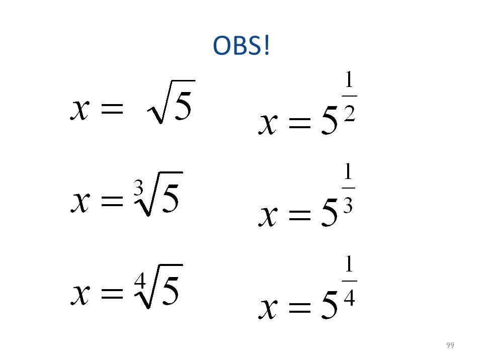 OBS! 99