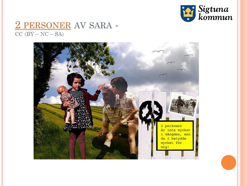 2 PERSONER 2 PERSONER AV SARA - CC (BY – NC – SA)