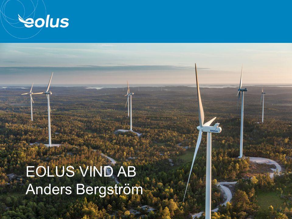 1 EOLUS VIND AB Anders Bergström