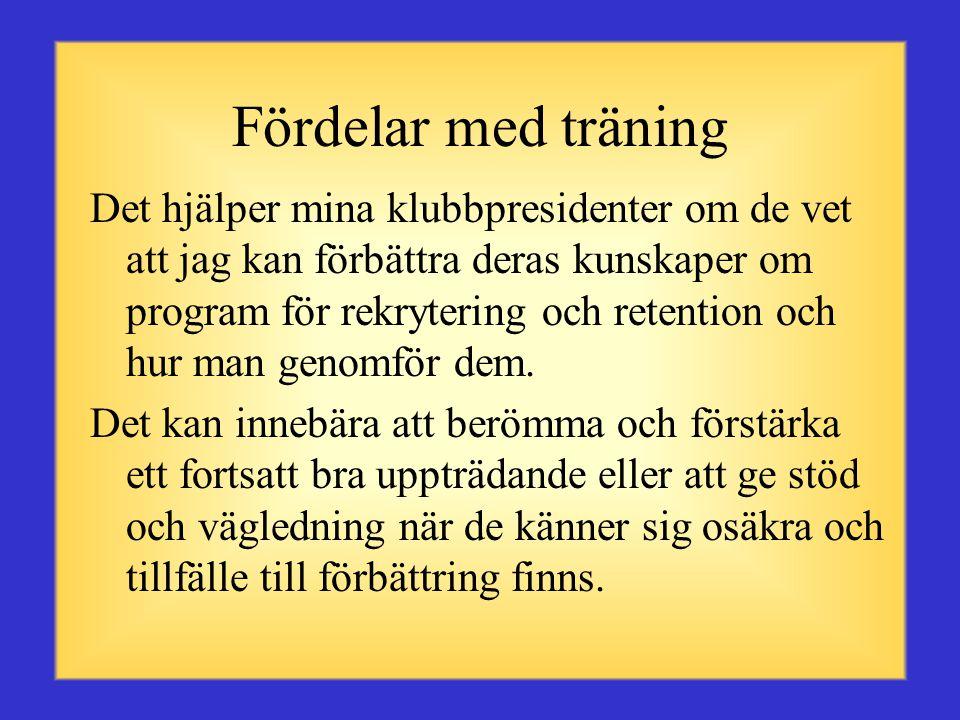 Definition Att träna är den process du använder för att ge individer kraft att ta fram sitt bästa för att nå uppsatta mål.