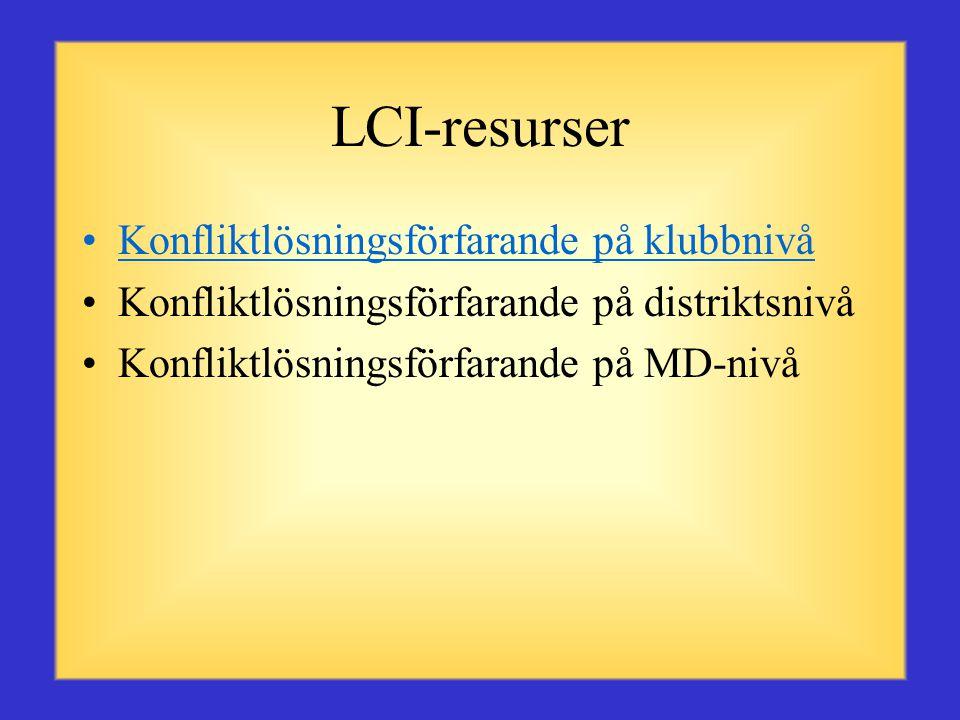 Distriktets resurspersoner •Andra zonordförande •Regionordförande •Distriktets GMT- och GLT-koordinatorer •2:a vice distriktsguvernör •1:a vice distriktsguvernör •Distriktsguvernör