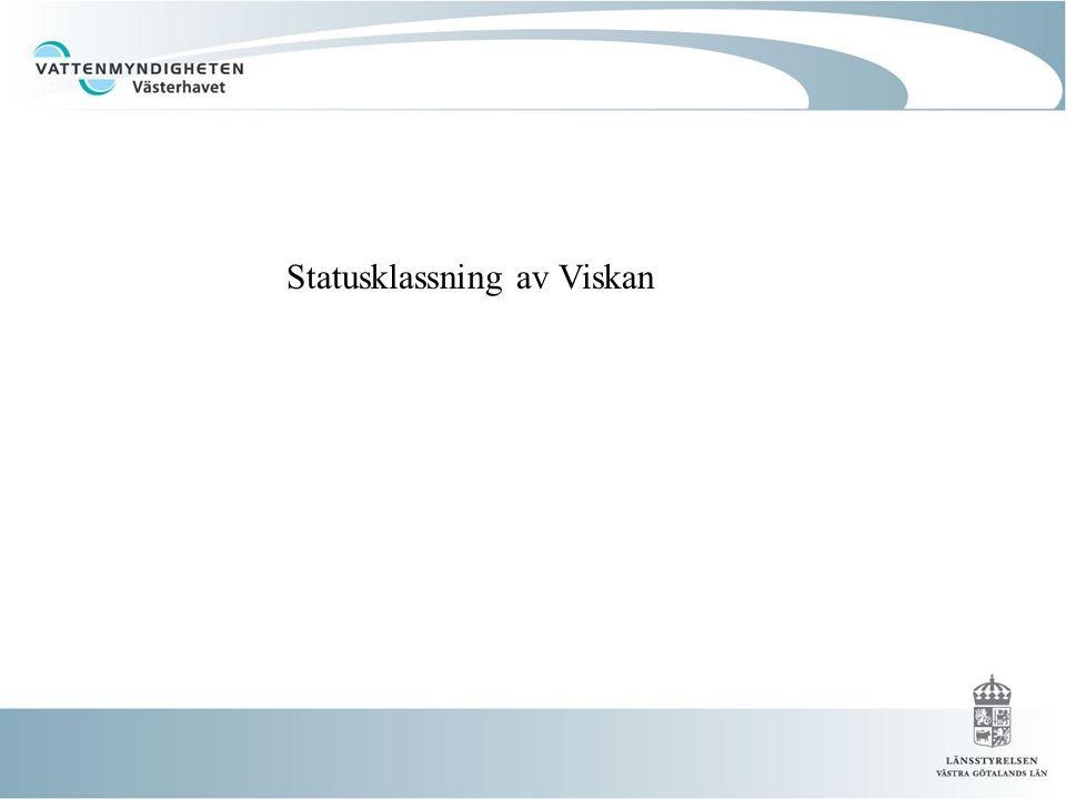 Statusklassning av Viskan