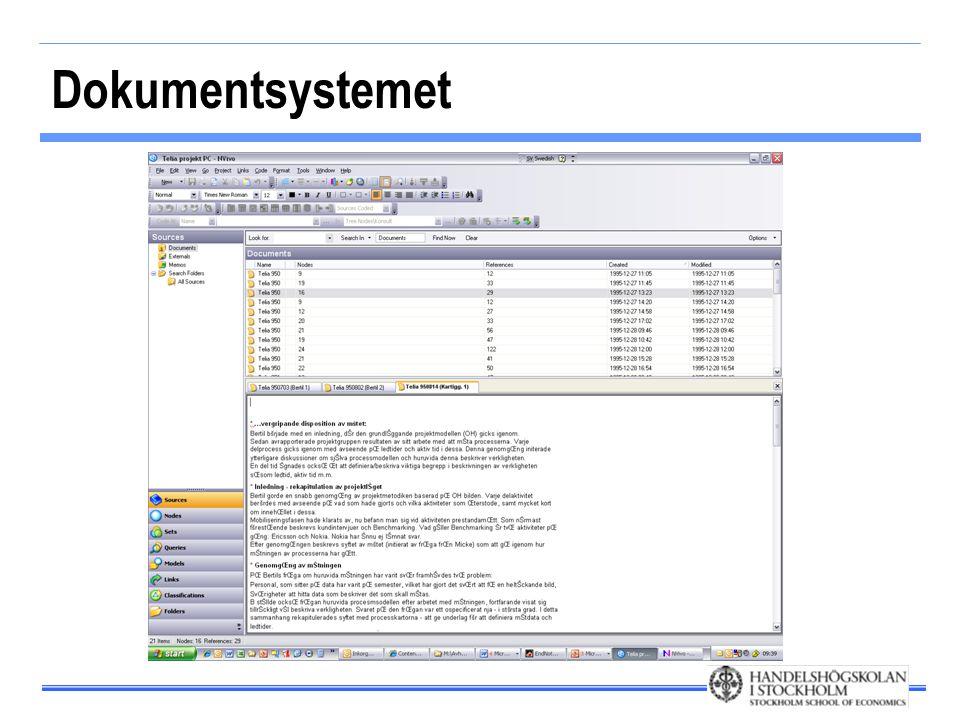 Dokumentsystemet