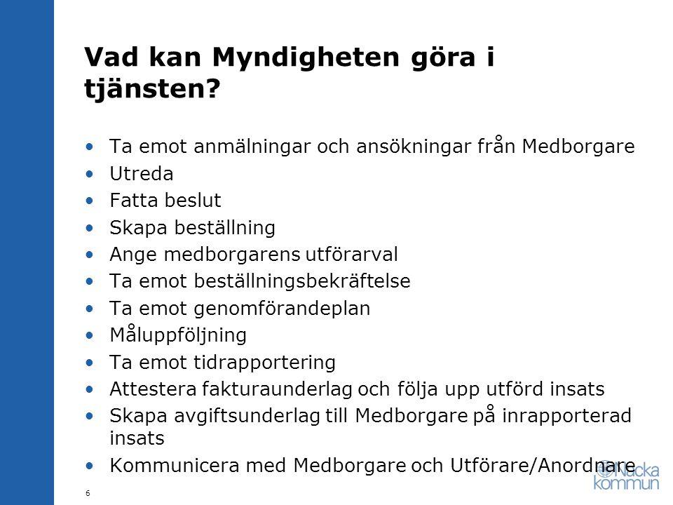 Kontaktuppgifter •Mailadress för kommunikation med projektet •STJ-Combineinfo@nacka.se 17