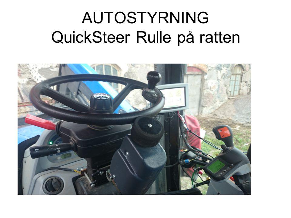 AUTOSTYRNING QuickSteer Rulle på ratten