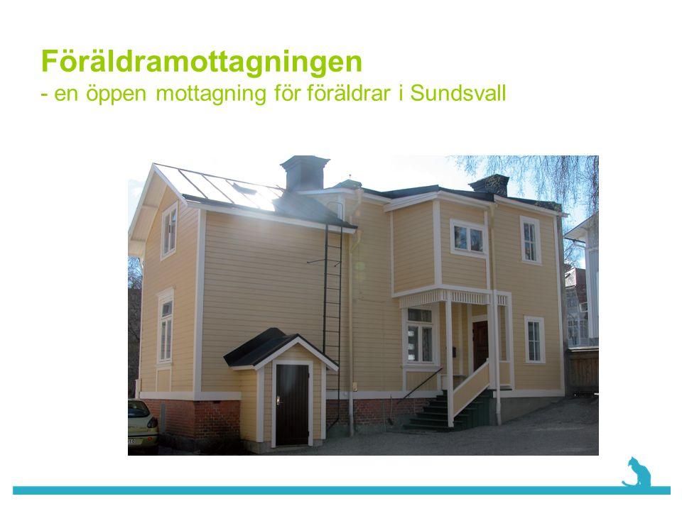 Föräldramottagningen - en öppen mottagning för föräldrar i Sundsvall