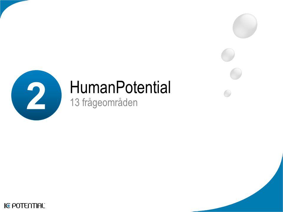 Drivkrafter Topp-10 Viktigaste Frågorna De tio Viktigaste FrågornaMedel Human Potential 1.