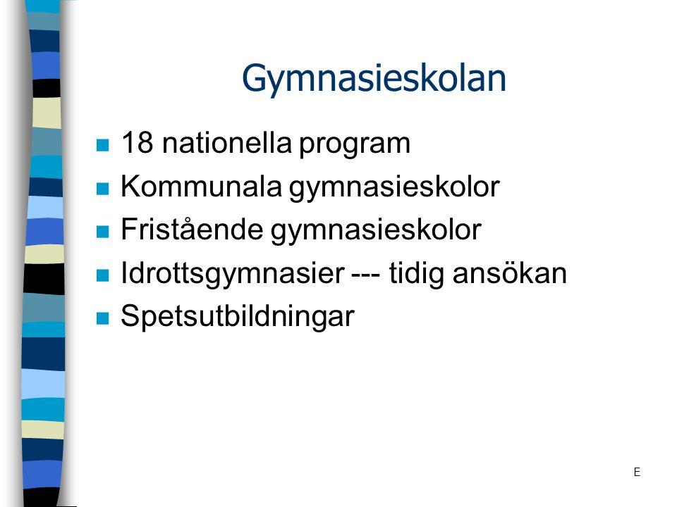 www.gymnasiestudera.se n Utbildningar i Östergötland n Ansökan n Antagningsstatistik n Öppet hus E