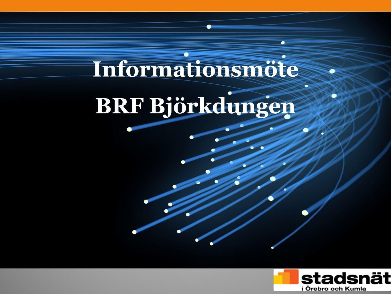 Informationsmöte BRF Björkdungen