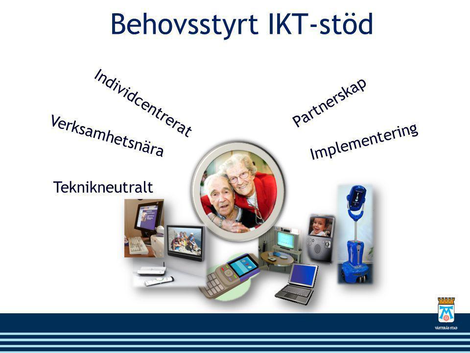 Individcentrerat Verksamhetsnära Teknikneutralt Partnerskap Implementering Behovsstyrt IKT-stöd