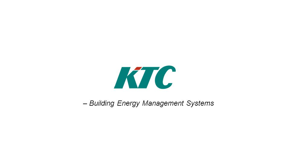 – Building Energy Management Systems