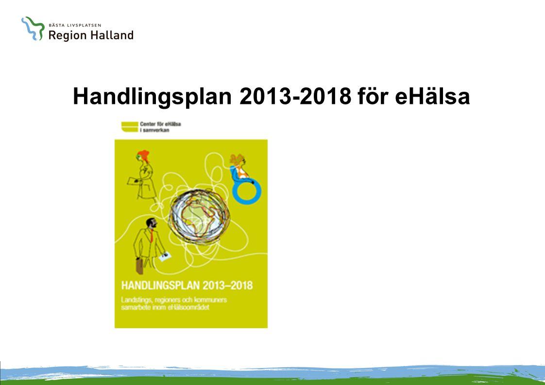 Handlingsplan 2013-2018 för eHälsa