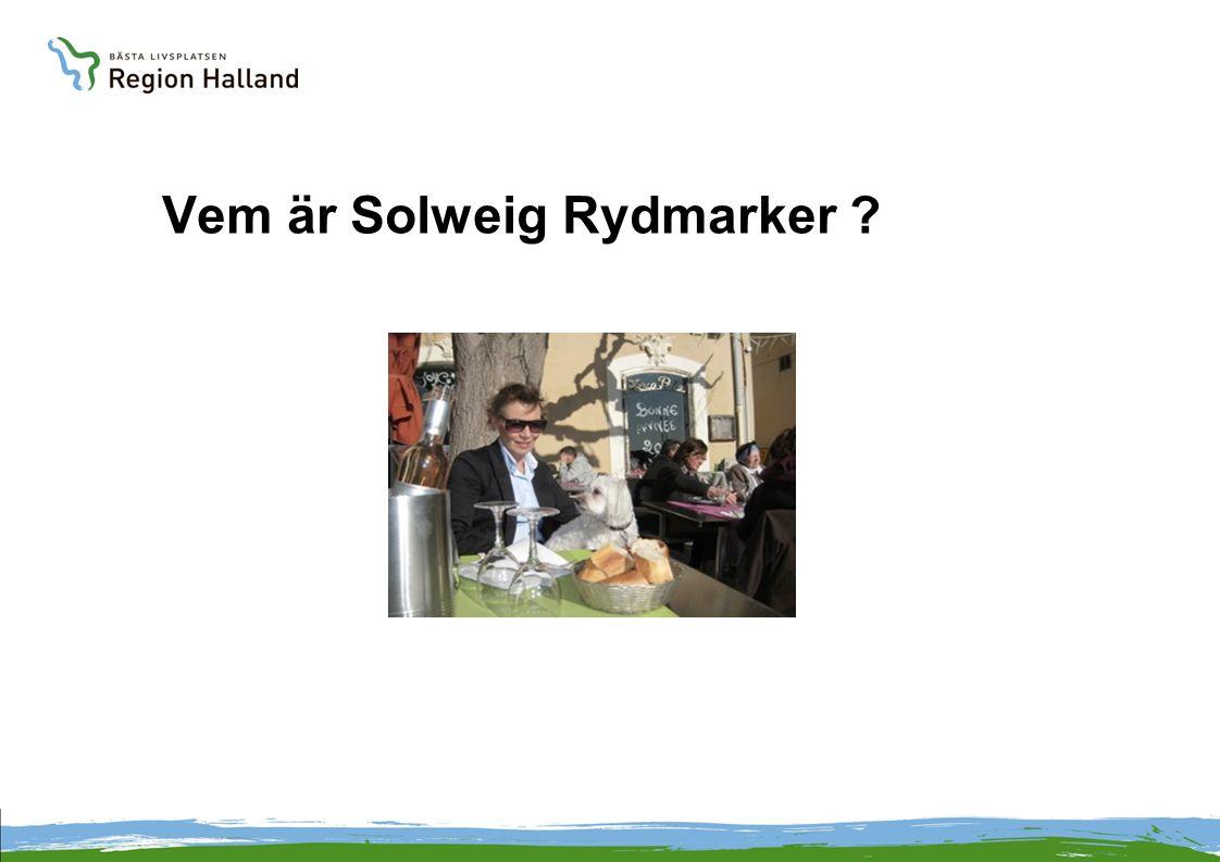 Vem är Solweig Rydmarker ?
