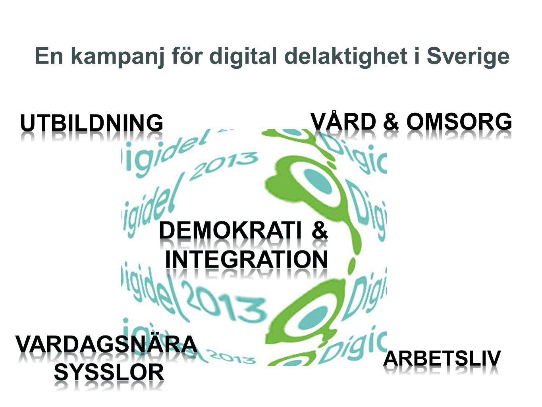 En kampanj för digital delaktighet i Sverige