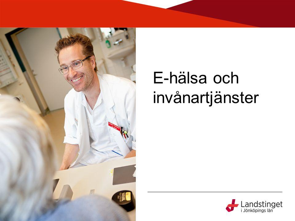 Nationell e-hälsa •Landsting och regionerna går 2013 in i en ny 6-årig överenskommelse •Nationell handlingsplan 2013-2018 •CeHis – Center för eHälsa i samverkan (på SKL) samordnar drift och utveckling