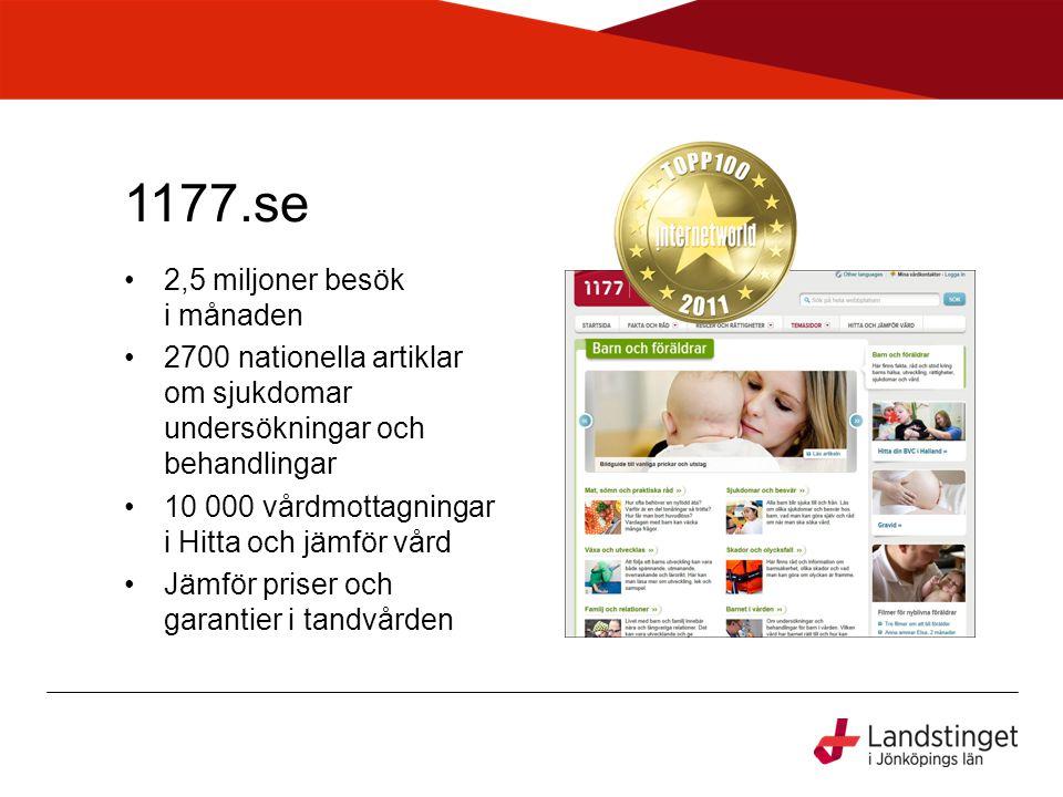 Följ din remiss (Stockholm) •Följ sina remisser via dator, smartphone eller läsplatta.