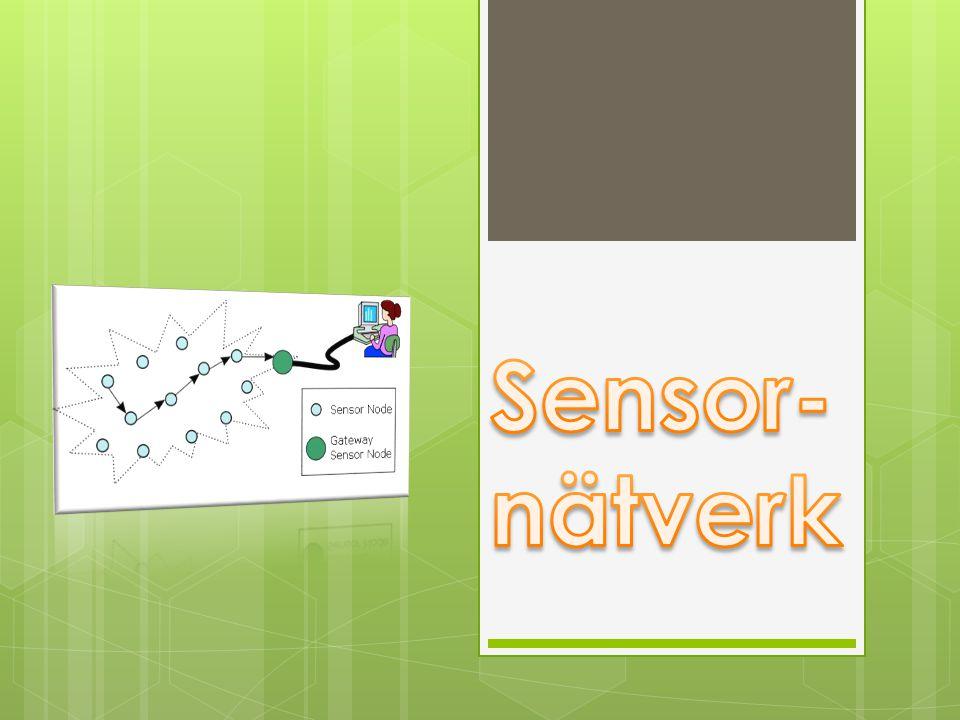 Vad är ett sensornätverk.