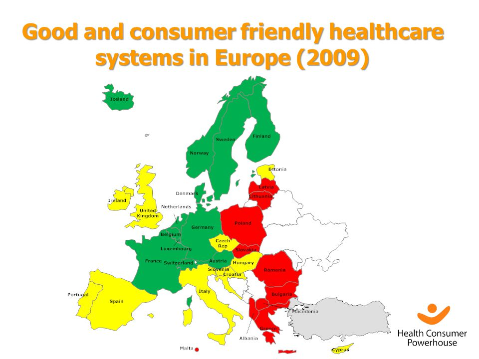 Good and consumer friendly healthcare systems in Europe (2009)
