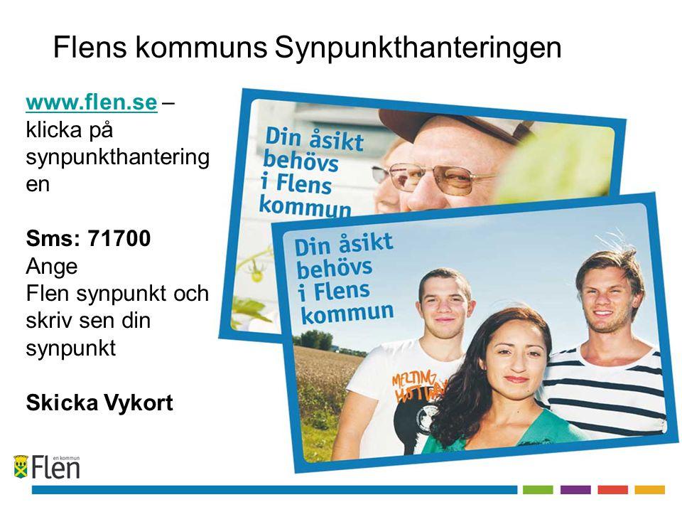 Flens kommuns Synpunkthanteringen www.flen.sewww.flen.se – klicka på synpunkthantering en Sms: 71700 Ange Flen synpunkt och skriv sen din synpunkt Ski