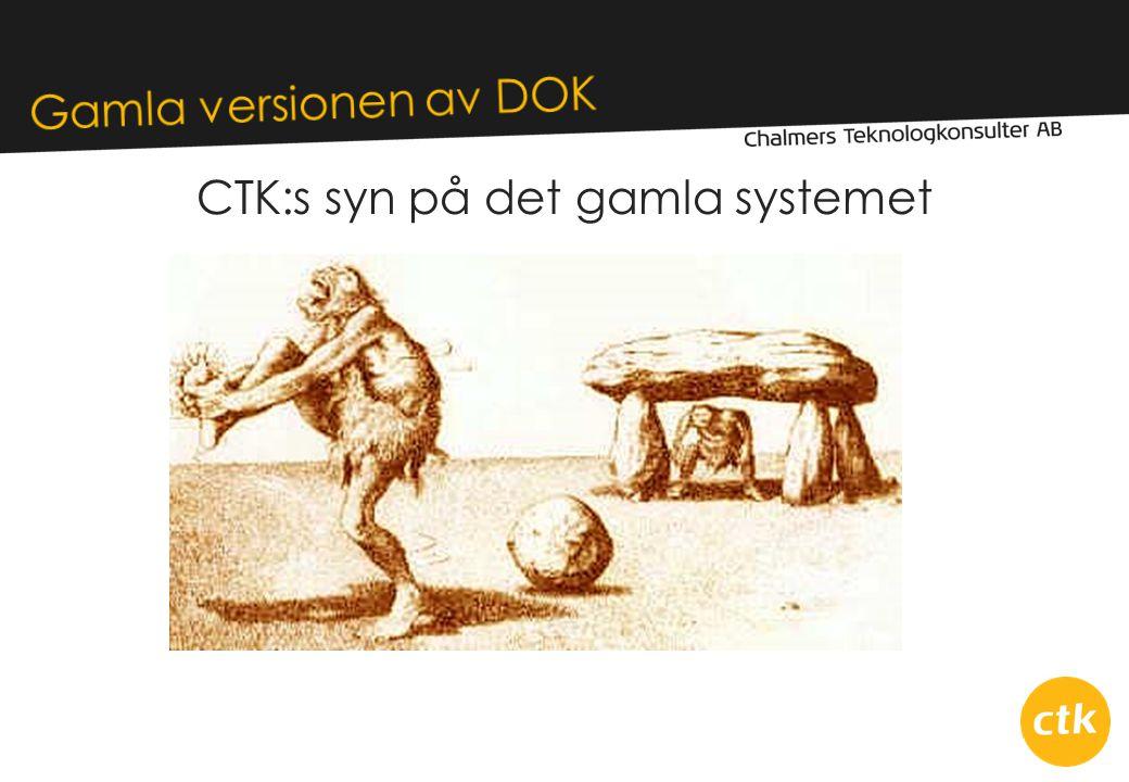 CTK:s syn på det gamla systemet