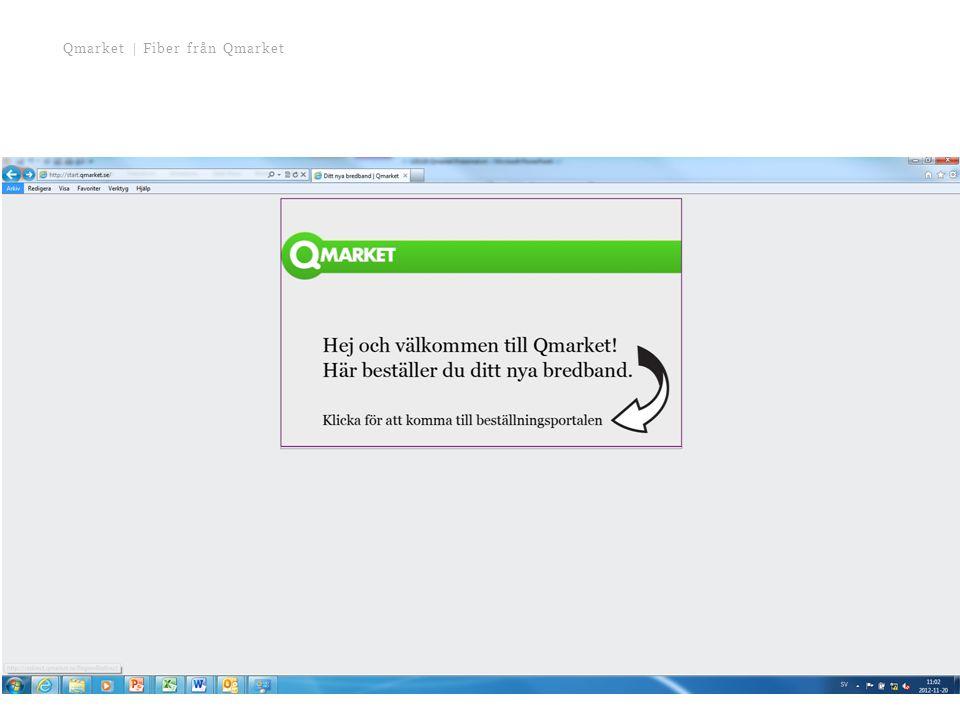 Qmarket | Fiber från Qmarket