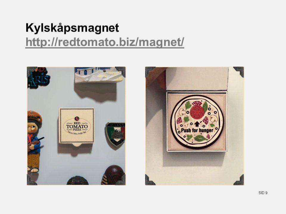 SID 9 Kylskåpsmagnet http://redtomato.biz/magnet/ http://redtomato.biz/magnet/