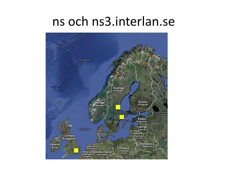 ns och ns3.interlan.se