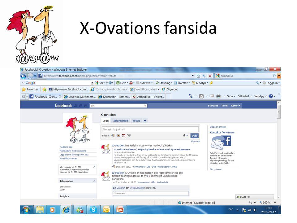 X-Ovations fansida
