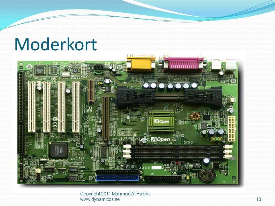 CPUUTIN Sekundärminnen Centralenhet CPU  Centralenheten är hjärnan i datorn  CPU = Central Processing Unit  Består principiellt av processorn och primärminnet  CPU samarbetar mellan enheter 14 Copyright 2011 Mahmud Al Hakim www.dynamicos.se