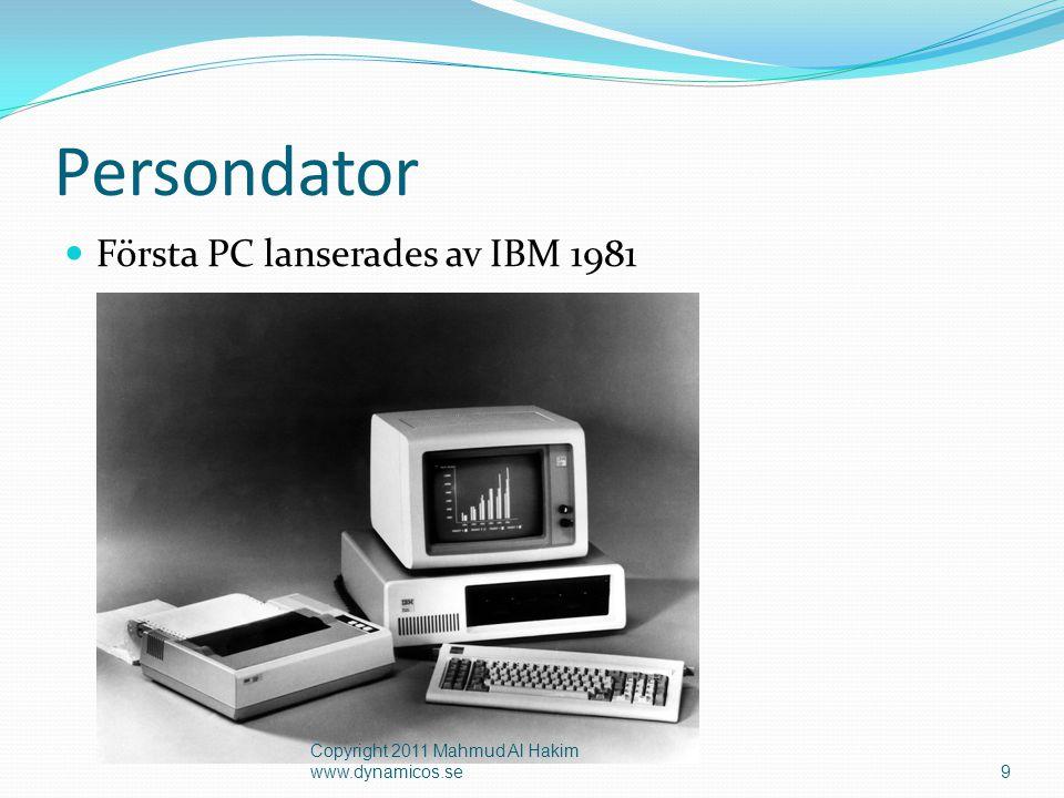 Hårdvara (Maskinvara)  Hårdvara är ett samlingsnamn för olika fysiska tillbehör till en dator.