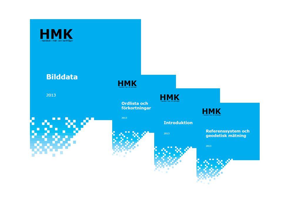 Utvecklingen kan följas på HMK:s hemsida: • Tre projekt: Geodatainsamling  Geodatainsamling Laserdata, Ortofoto, Höjddata och Fotogrammetrisk detaljmätning och Bilddata HMK-Introduktion  HMK-Introduktion Geodatakvalitet  Geodesi • Aktiviteter vid möten, mässor etc • Nyhetsbrev vid nyckelhändelser Vad händer 2014-?