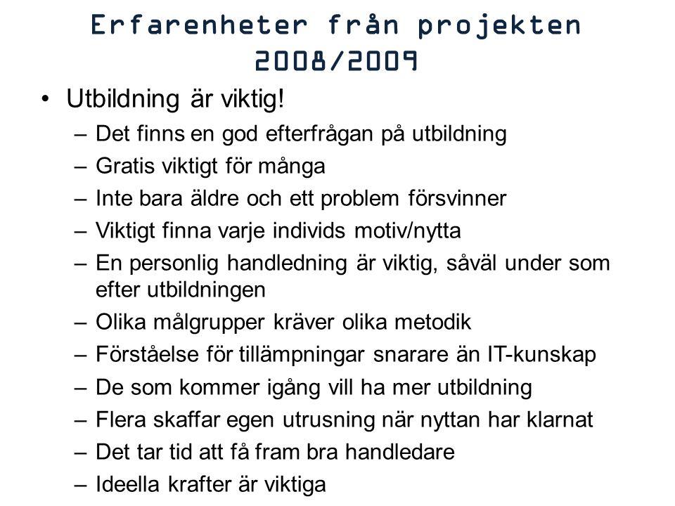 Inte oväntat är det huvudsakligen de äldre; det finns drygt 700 000 svenskar som är äldre än 75 år och bland dessa är det 570 000 som inte använder Internet.