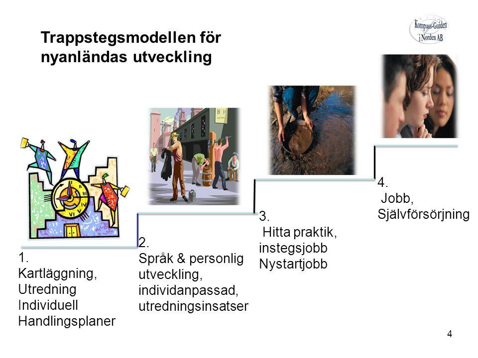 1. Kartläggning, Utredning Individuell Handlingsplaner 2.
